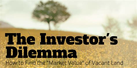 the investor s dilemma how to find the quot market value quot of