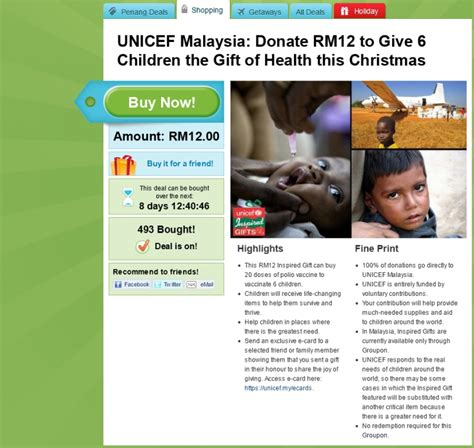 groupon malaysia new year groupon malaysia does unicef inspired gifts hype malaysia