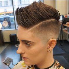 barber her butch haircut cute crewcut girl buzzed tapered cuts pinterest girls