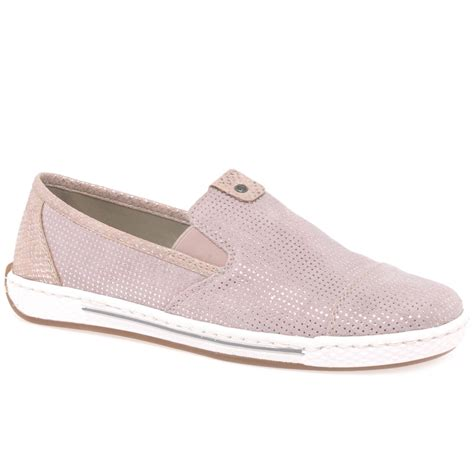 rieker pisa womens casual slip on shoes charles clinkard