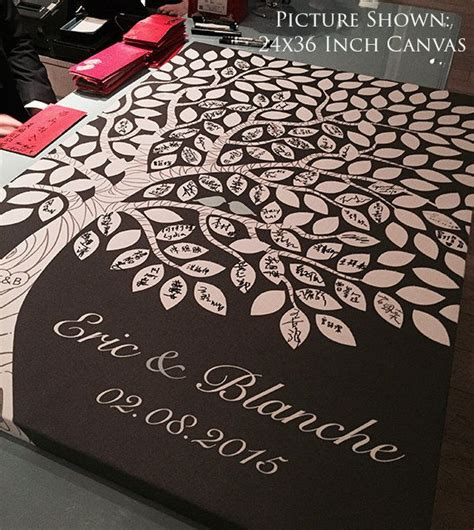 Wedding Guestbook 6 custom wedding guest book wedding guest book ideas