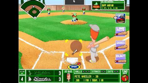 Backyard Baseball League by Backyard Baseball League Pc Tournament 17 Minty Fresh