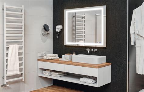 master badezimmerspiegel badezimmerspiegel h 228 fele aquasys multifunktional