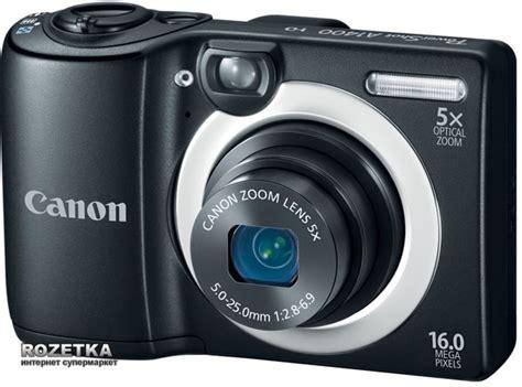 Canon A1400 Powershot Hd rozetka ua фотоаппарат canon powershot a1400 black 8115b012 цена купить фотоаппарат canon