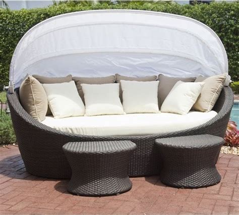 outdoor furniture daybeds coastal wicker outdoor daybed contemporary patio chicago by home infatuation