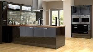 high gloss black kitchen cabinets kitchen cabinets kitchen rooms diy at b q