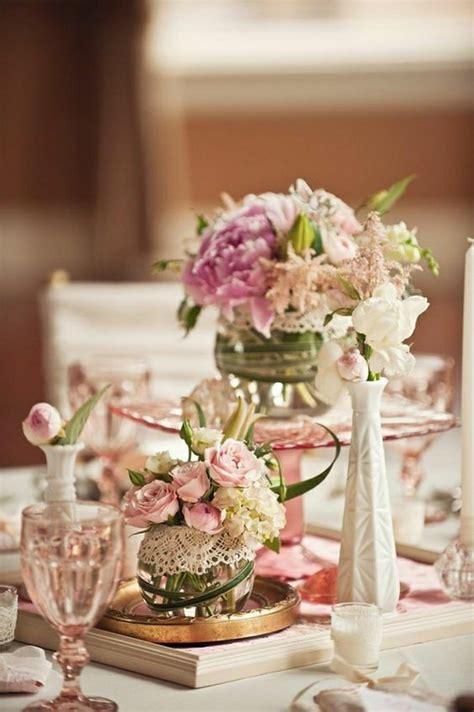 Decoration Table Chetre by Comment D 233 Corer Le Centre De Table Mariage