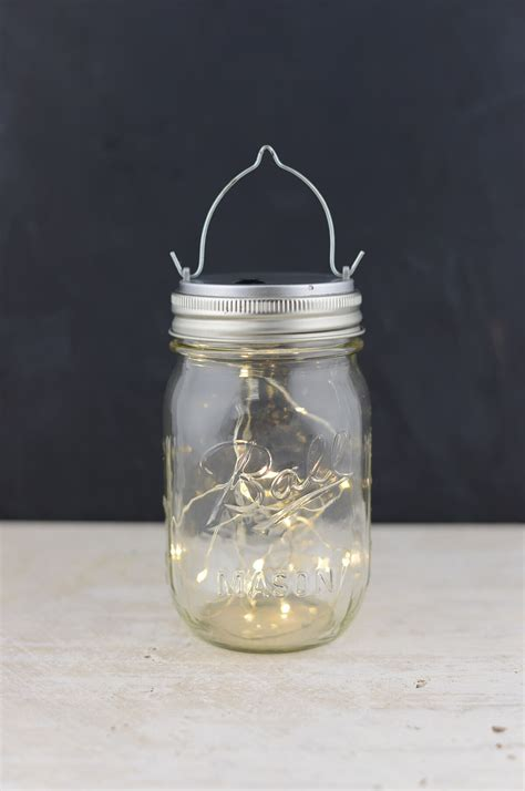 Mason Jar Lights 20ct Warm White Led Fairy Lights With Lid Lights In Jars