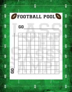 Football pool samples