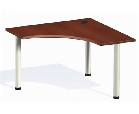 Corner Desk Table by Corner Desk Curved Front Workspaces