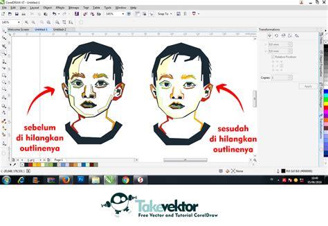tutorial wpap corel draw x7 pdf cara sederhana membuat wpap dengan coreldraw takevektor