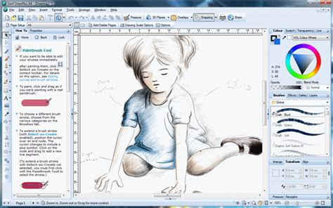 sketch software for windows drawplus free vector graphics editor