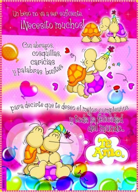 imagenes de feliz cumpleaños amor animadas christian y sarita feliz cumplea 209 os mi amor