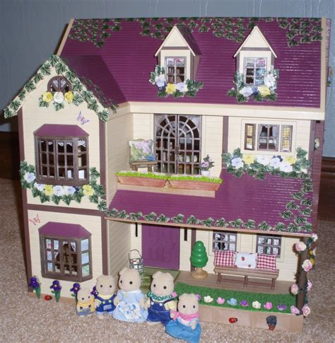 critter doll house 69 best sylvanian families calico critters decorated houses images on pinterest sylvanian
