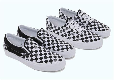 vans checkered pattern dover street market x vans checkerboard collection