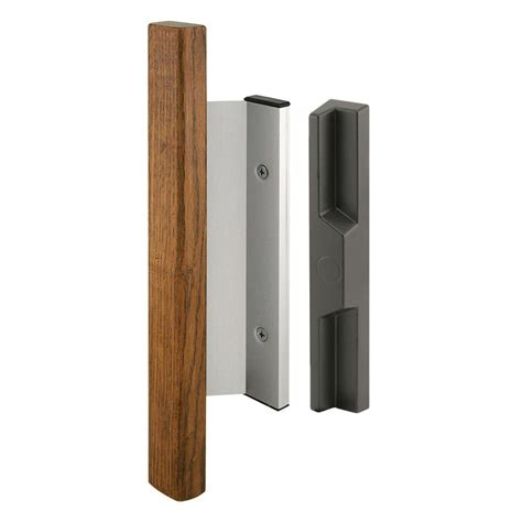 prime line sliding door handle set heavy duty wood handle