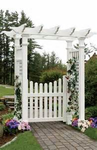 Garden Arbor With Gate White 25 Gorgeous Arbor Gate Ideas On Garden Gates