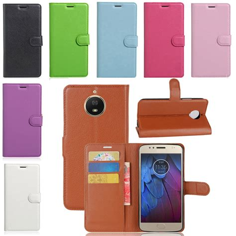 Cover Moto G5s Flipcover Moto G5s Plus Leather Cover Tempered Glass for moto g5 g5s plus magnetic card wallet flip pu