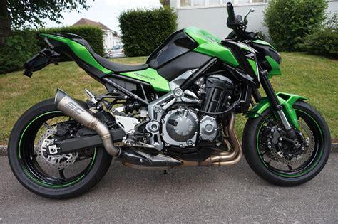 Motorrad Auspuff Kawasaki by Kawasaki Z900 Auspuff Motorrad Bild Idee