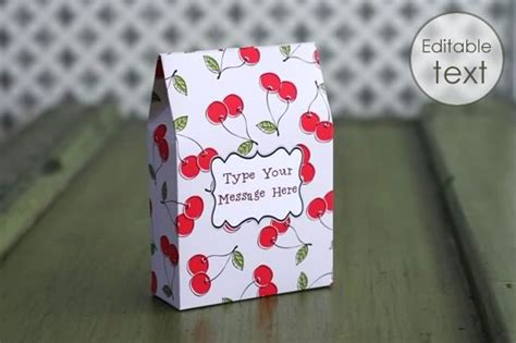Free Printable Templates For Gift Boxes