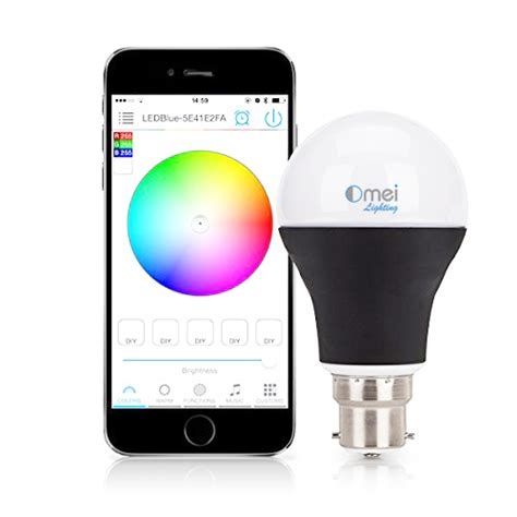 led bluetooth light bulb b22 bluetooth led light bulb dimmable multicolored color
