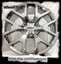 Replica Chevy Truck Wheels 22 Inch Chrome 2015 2016 Gmc Oe Replica Wheels Chevrolet