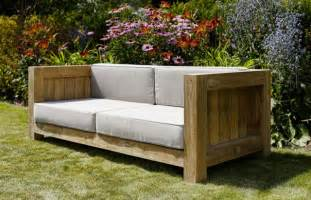 outdoor patio sofa outdoor furniture by oxenwood cox garden designs
