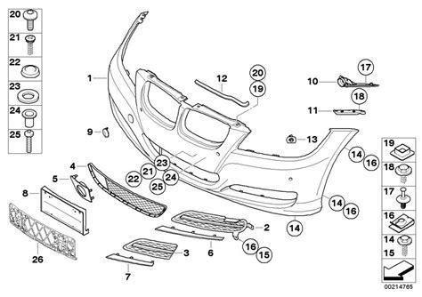 2001 bmw 325i parts diagram bmw 325i front bumper diagram bmw free engine image for
