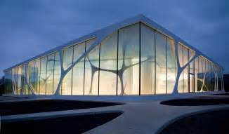 modern architecture style hyper naturalistic and aesthetic architecture leonardo glass cube in bad driburg by 3deluxe