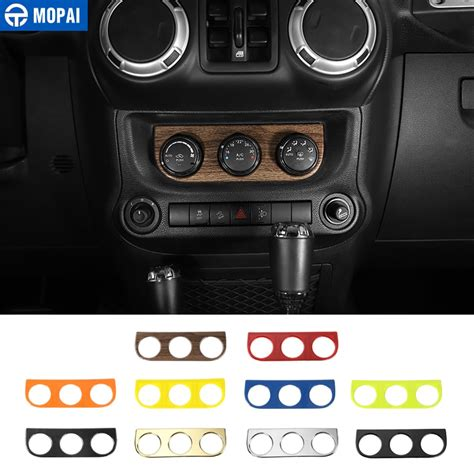 auto air conditioning repair 2012 jeep wrangler interior lighting mopai car interior air conditioning switch panel decoration cover stickers for jeep wrangler jk