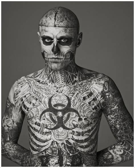 full body and face tattoo full body tattoo deisgns 17