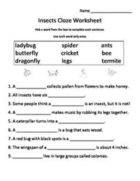 science fill in the blank worksheets 1000 images about science on cycles books and living and nonliving