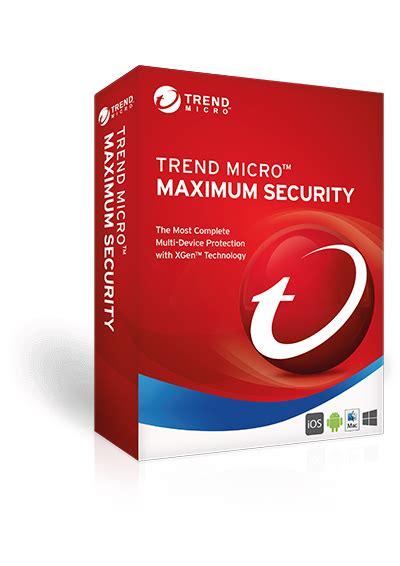 Trend Micro Security trend micro maximum security