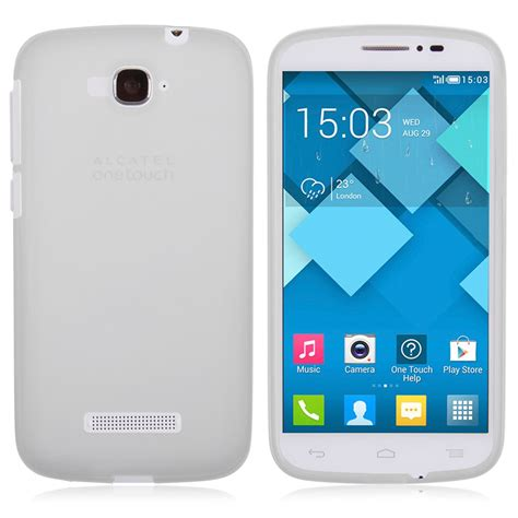 Hp Alcatel One Touch C7 soft tpu silicone gel cover for alcatel one touch pop