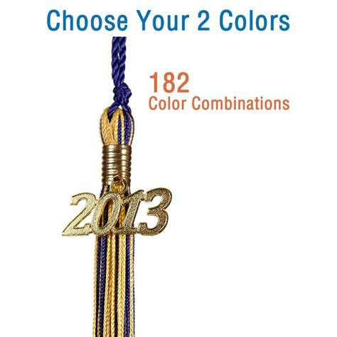 graduation tassel colors 2 color 9 quot tassel graduation source