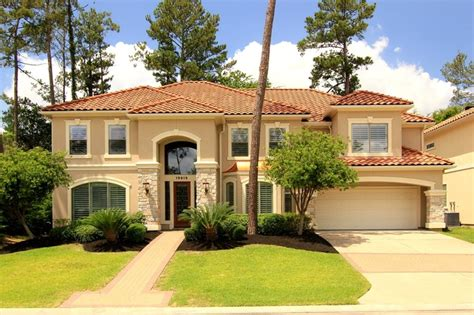 mediterranean style homes for sale houston texas usa single family home for sale