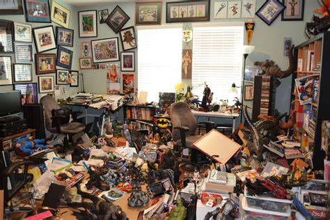 my bedroom is a mess big mess in the house and to my toy collection after the 5