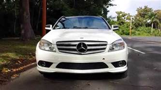 mercedes c300 amg sport package 2009