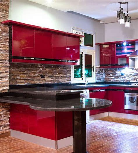 مطبخ أمريكى أكريلك acrylic american kitchen kitchens