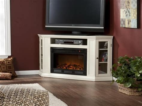 best corner fireplace entertainment center with tv home