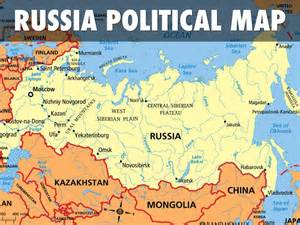 russia map and surrounding countries countries of the world by joely anysz