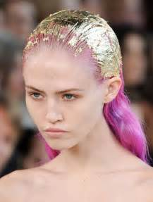 how to make gold hair color i ll try anything once gold leafed hair
