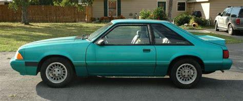 1992 mustang hatchback calypso green 1992 ford mustang hatchback