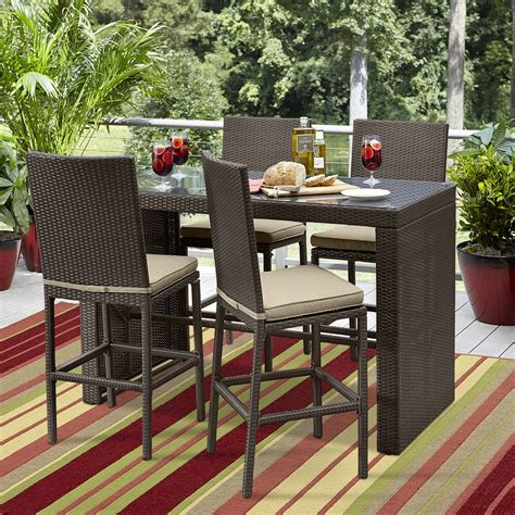ty pennington parkside pc high dining set woodbridge