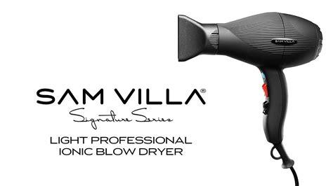 Sam Villa Hair Dryer sam villa light professional ionic dryer