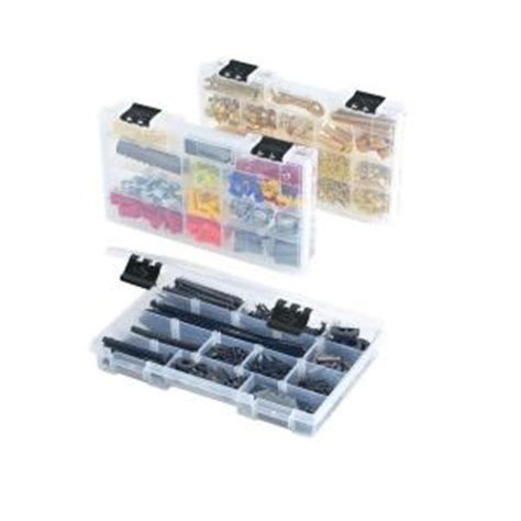 husky 12 compartment parts bin organizer 3 pack 83044n13