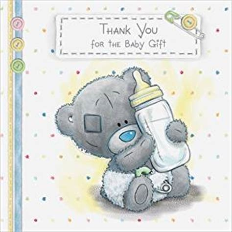 Thank You Cards For Baby Gifts - me to you tatty teddy baby gift thank you cards pack of 10 amazon co uk office