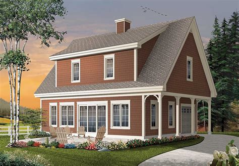 cape cod cottage plans shed dormered getaway 22313dr 2nd floor master suite