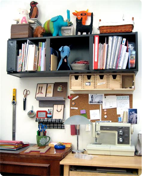 20 creative ways to organize your work space style craft room inspiration organize your work space for