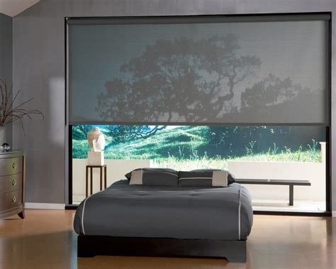 Bedroom Shades by Roller Clutch Shade In A Bedroom Roller Shades